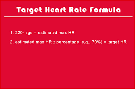Optimal Heart Rate Chart Formula For Target Heart Rate