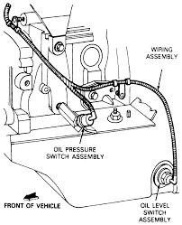Solved 1988 ranger 2 3 oil light stays on where rh where's the oil pressure switch oil pressure sender switch schematic