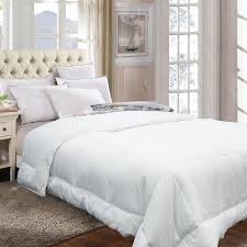 Duvets & Down Comforters Adoric Alternative King Size White ... & Picture 1 of 6 ... Adamdwight.com