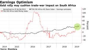 South Africa Turns Unlikely Haven As Gold Gain Boosts Stocks
