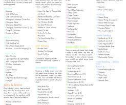 Sample Baby Shower Checklist Baby Shower Checklist In Stylish Checklist Component Checklist 24