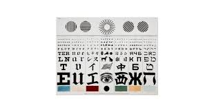 George Mayerle Test Chart Optometrist Multicultural Eye Test Chart 1907 Zazzle Com