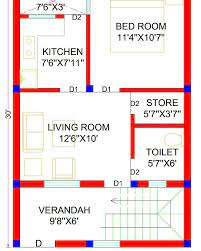 20x30 house plans 20x30 north facing