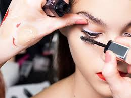 we imagine the mind of a makeup artist must swirl with brightly coloured lipsticks and creamy
