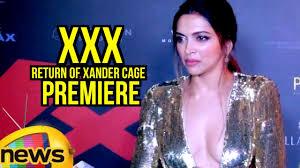 Deepika Padukone At XXX Return Of Xander Cage Premiere In Mumbai.