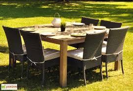 Table Jardin Acacia Cosmos (150x150x77) - Cosmos table carrée ...