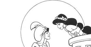 Aladdin Disegno Da Colorare N5