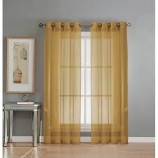 Diamond Vibe Cabinets Window Elements Diamond Sheer Voile Extra Wide Grommet Single