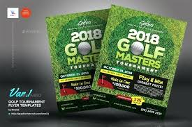 Charity Golf Tournament Flyer Poster A Customize Template