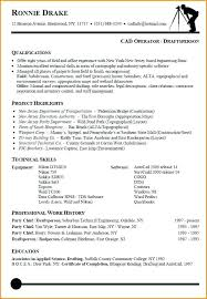 Autocad Drafter Resume Waiter Resume Examples For Letters Job
