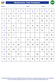 New #math #worksheet #generator about #multiplication table is now ...