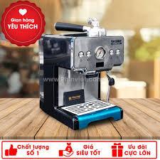Máy pha cà phê Gemilai CRM-3605 Espresso mini chuyên nghiệp cho gia đình,  văn phòng, quán cafe nhỏ chính hãng 4,500,000đ