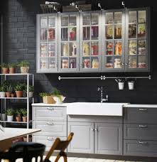 Unique Ikea Kitchen Door Sizes Sektion With Bodbyn Gray Doors Drawer On Inspiration Decorating