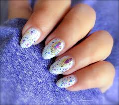 Easy Nail Art At Home ~ How I Did This Nail Design In Single Step ...