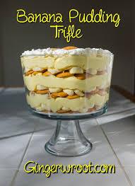 layered banana pudding t