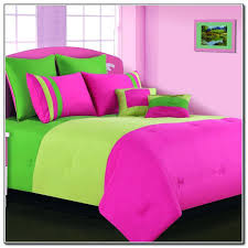pink and green comforter pink and lime green bedding sets beds home furniture design elegant concept