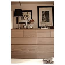 ikea bedroom furniture malm. IKEA MALM Chest Of 6 Drawers Real Wood Veneer Will Make This Age Ikea Bedroom Furniture Malm