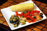 baked grouper with chunky tomato sauce