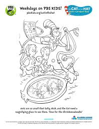 Small Picture The Cat in the Hat Printable Activities PBS KIDS