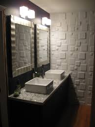 small bathroom wall tile. Marvelous Bathroom Decor: Fabulous Wall Tile Panels Decorative 3D Gallery 3d And Of Small B