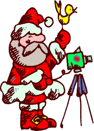 Image result for santa with video camera