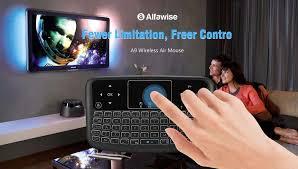 <b>Alfawise A9 New Touch</b>: remote με φωτιζόμενο keyboard στα 6 ...