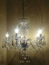 waterford crystal chandeliers vintage 5 arm crystal chandelier waterford crystal chandelier replacement parts