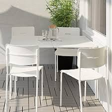 HÖGSTEN Chair With Armrests IKEA Hand Woven Plastic Rattan With Outdoor Dining Furniture Ikea