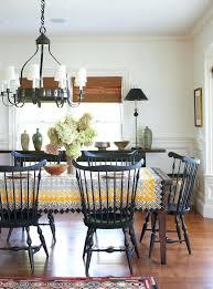 black windsor chairs buffet table restoration hardware