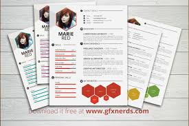 Free Designer Resume Templates By Leslyg Impressive And