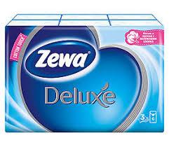 <b>Платки носовые Zewa</b> Делюкс трехслойные, 10 шт. упаковка 6 ...