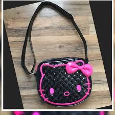 445 best Hello Kitty<6 images on Pinterest | Bag, Bracelets and ... & Quilted Hello Kitty Purse Quilted Black Patent Hello Kitty Purse Adamdwight.com