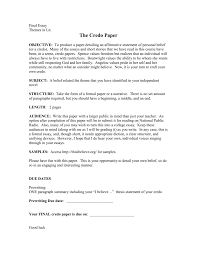 themes novel files the credo essay doc