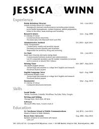 College Resume Examples Template Outline Sample High School Senior