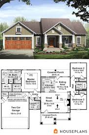 Small Picture small bungalow house plan with huge master suite 1500sft House