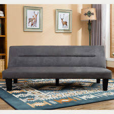 office futon. Modern Style Sofa Bed Futon Couch Sleeper Lounge Sleep Dorm Office Microfiber