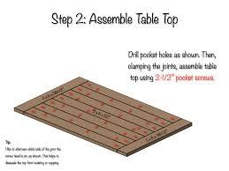 Kitchen Table Plan Farmhouse Kitchen Table Plans Of Including Best Farm Diy Ideas