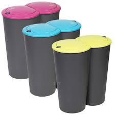 Kitchen Waste Bin Door Mounted 8 Types Of Rubbish Bins Available Ebay