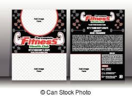 Health Fitness Flyer Brochure & Magazine Cover Design.