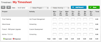 Time Sheet Online Timesheets