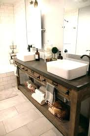 Modern Rustic Bathroom Vanity Rustic Modern Bathroom Best Rustic