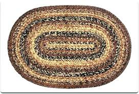 area of a oval rugs braided wonderful new checd cotton rug ova