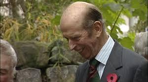 The Duke of Kent visits Dumfries and Galloway - ITV News