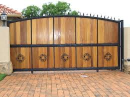excellent astounding brown wood modern wrought iron gates and wooden gate designs for rooms in india