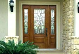 exterior door glass inserts front door with glass window front door glass insert door inserts glass