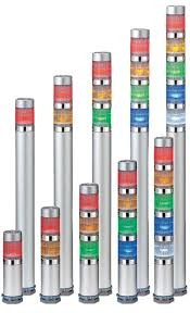 patlite signal towers stack lights machine status indicator me series super slim indicating light led light