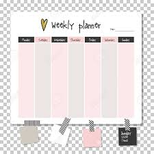 Planner Paper Template Weekly Planner Note Paper Notes To Do List Organiser Planner