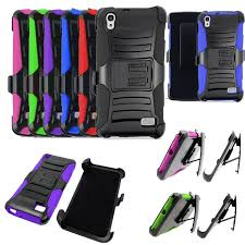 huawei raven lte phone case. phone case for straight talk huawei pronto lte rugged cover stand holster clip | ebay raven lte