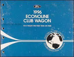 1996 ford econoline van club wagon electrical troubleshooting manual