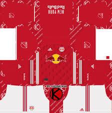 Ada 2 kit keren yang bisa kamu gunakan dan kalau penasaran kunjungi saja halaman ini: New York Red Bulls 2019 Kit Dream League Soccer Kits Kuchalana